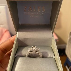 Zales 1 cttw diamond engagement ring